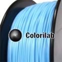 Filament d'imprimante 3D PLA 3.00 mm bleu léger 2915C