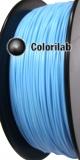 Filament d'imprimante 3D 1.75 mm PLA bleu pastel 291C