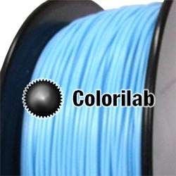PLA 3D printer filament 2.85 mm pastel blue 291C