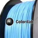 PLA 3D printer filament 2.85 mm pastel blue 291C