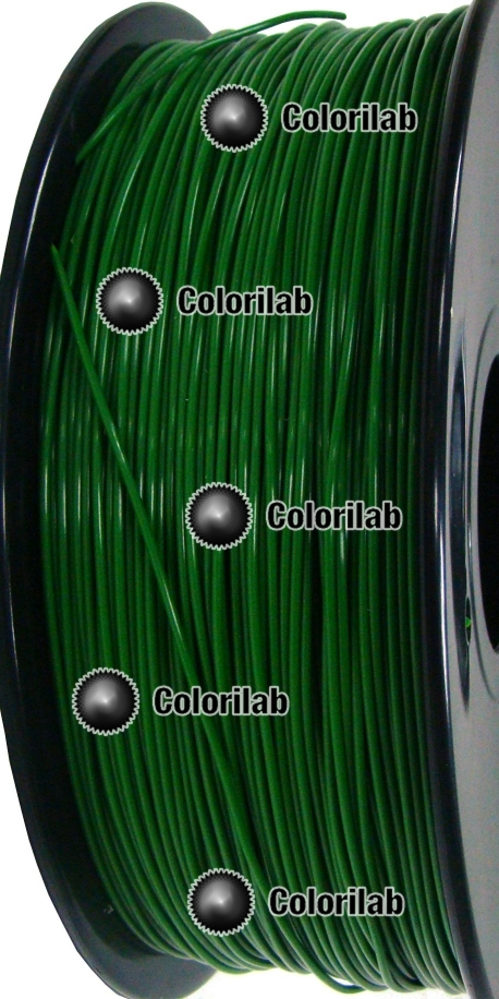 ABS 3D printer filament 1.75 mm dark green 349C