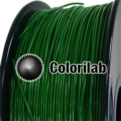 ABS 3D printer filament 3.00 mm dark green 349C