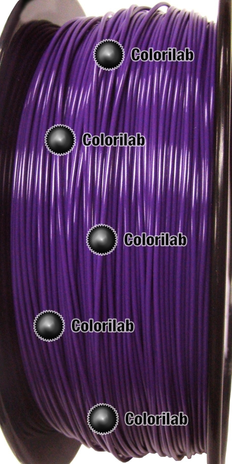 ABS 3D printer filament 3.00 mm dark violet 7680C