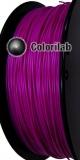 Filament d'imprimante 3D ABS 1.75 mm violet translucide 248 C