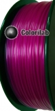 PLA 3D printer filament 1.75 mm translucent violet 248C
