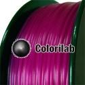 ABS 3D printer filament 3.00 mm translucent violet 248C