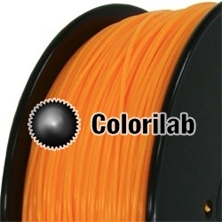 PLA 3D printer filament 1.75 mm close to orange 1575 C