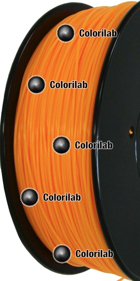ABS 3D printer filament 1.75 mm orange 1575C