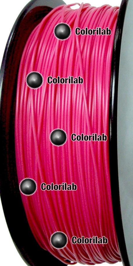 PLA 3D printer filament 3.00 mm close to dark pink 7424 C
