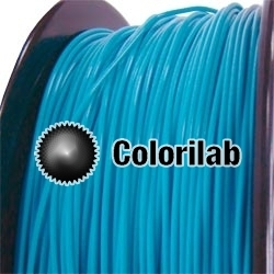 PLA 3D printer filament 3.00 mm Antilles blue 3125C
