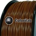 PLA 3D printer filament 3.00 mm brown 7567C