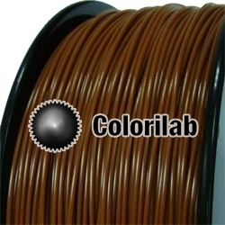 ABS 3D printer filament 1.75 mm close to brown 7567 C