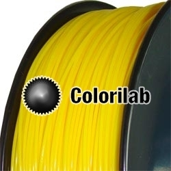 ABS 3D printer filament 1.75 mm dark yellow 107C