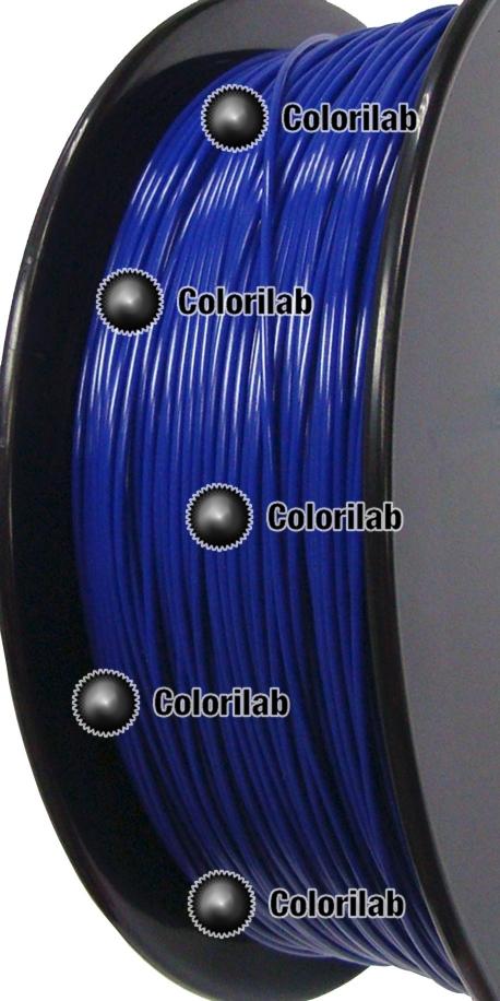 Filament d'imprimante 3D PLA 3.00 mm bleu foncé 2747C