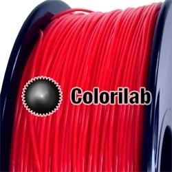 Filament d'imprimante 3D PLA 1.75 mm rouge fluo Warm Red C