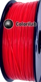 Filament d'imprimante 3D ABS 3.00 mm rouge fluo 032C