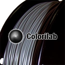 Filament d'imprimante 3D 2.85 mm PLA gris 444U