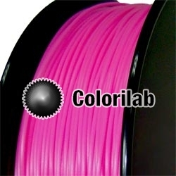 ABS 3D printer filament 3.00 mm close to pink 218 C