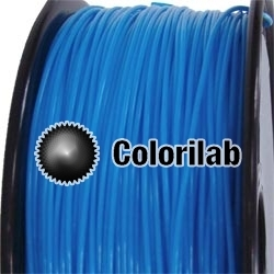 PLA 3D printer filament 3.00 mm fluo blue 2995C