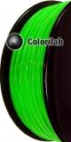 PLA 3D printer filament 1.75 mm close to fluo green 2271 C