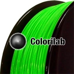 ABS 3D printer filament 3.00 mm close to fluo green 2271 C