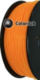 ABS 3D printer filament 3.00 mm fluo orange 151 C