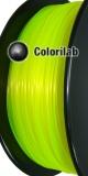 Filament d'imprimante 3D PLA 3.00 mm jaune fluo 923C