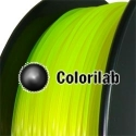 Filament d'imprimante 3D ABS 1.75 mm jaune fluo 923C