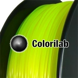 ABS 3D printer filament 3.00 mm close to fluo yellow 923 C