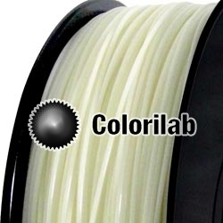 Filament d'imprimante 3D 1.75 mm PLA UV changeant : naturel à rouge