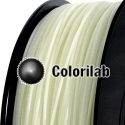 3D printer filament 3.00mm PLA UV changing : natural to red