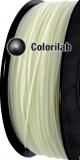 Filament d'imprimante 3D 1.75 mm ABS UV changeant : naturel à jaune