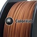 Filament d'imprimante 3D PLA-Flex 3.00 mm poudre cuivre 876C