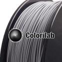 Filament d'imprimante 3D PLA 3.00 mm poudre aluminium 877C