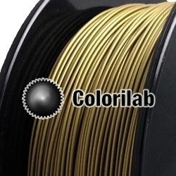 PLA 3D printer filament 1.75mm bronze powder 871C