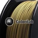 Filament d'imprimante 3D PLA 1.75 mm poudre bronze 871C
