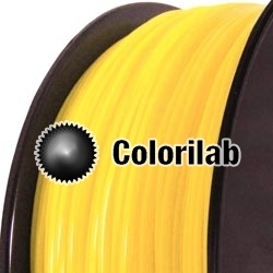 Filament d'imprimante 3D PC 1.75 mm jaune 101C