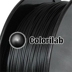 Filament d'imprimante 3D PLA 3.00 mm noir de jais