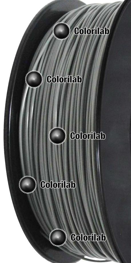Filament d'imprimante 3D PLA 3.00 mm gris froid 7C