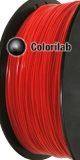Filament d'imprimante 3D PLA 1.75mm rouge 1795C