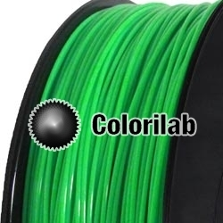 PP 3D printer filament 3.00 mm green 2270C