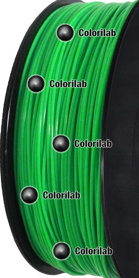 Filament d'imprimante 3D PLA 3.00 mm vert fluo 902C