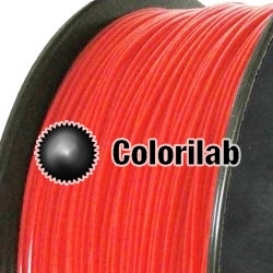 Filament d'imprimante 3D PLA 3.00 mm rouge fluo Bright Red C