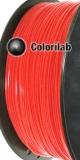 Filament d'imprimante 3D PLA 3.00 mm rouge fluo Bright Red C