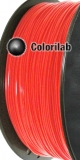 PLA 3D printer filament 3.00mm close to fluo Red C