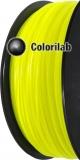 PLA 3D printer filament 1.75mm close to fluo yellow 389 C