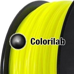 Filament d'imprimante 3D PLA 3.00 mm jaune fluo 389C