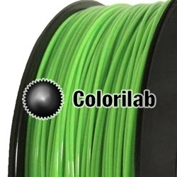 PLA 3D printer filament 1.75mm green 360C