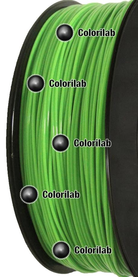 ABS 3D printer filament 1.75mm green 369C