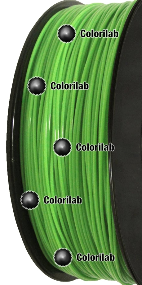 PC 3D printer filament 1.75mm green 802c